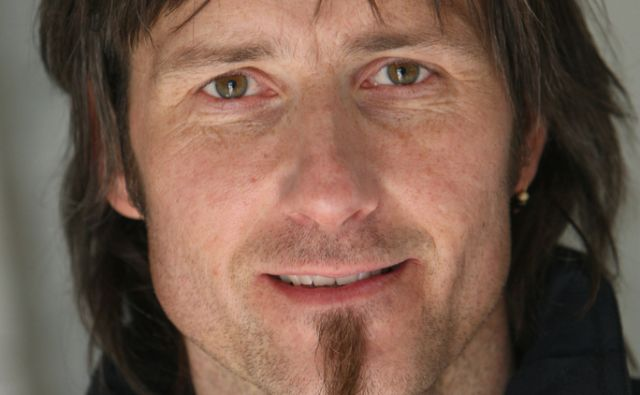 9.3.2011 Slovenija,Zagorje. Uros Macerl, aktivist in predsednik drustva Eko krog iz Zagorja.FOTO:JURE ERZEN/Delo