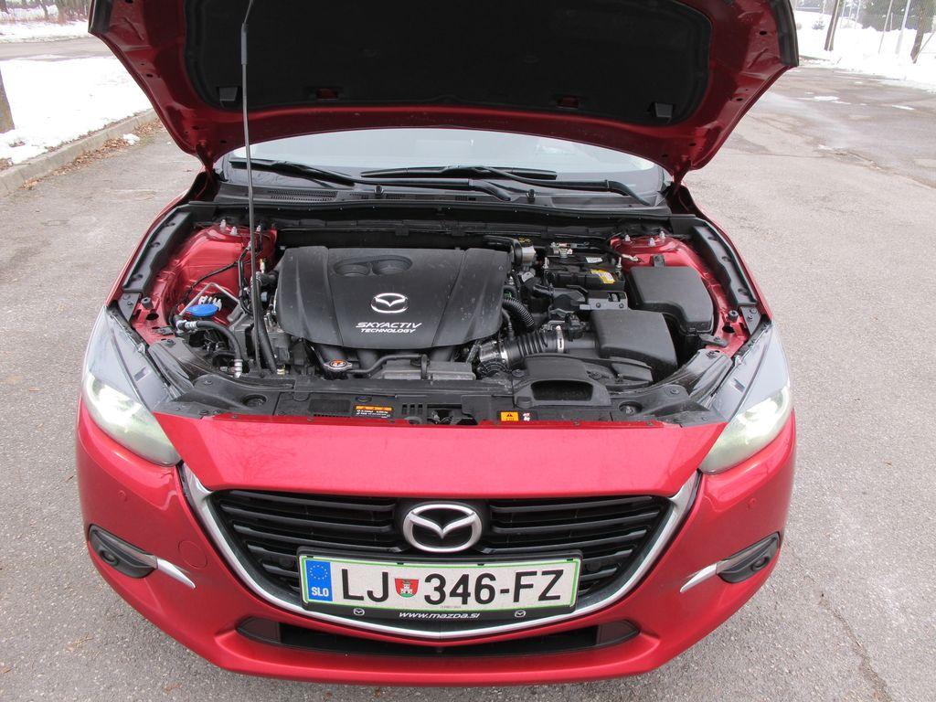 Preizkusili smo: Mazda3 sport G120 MT