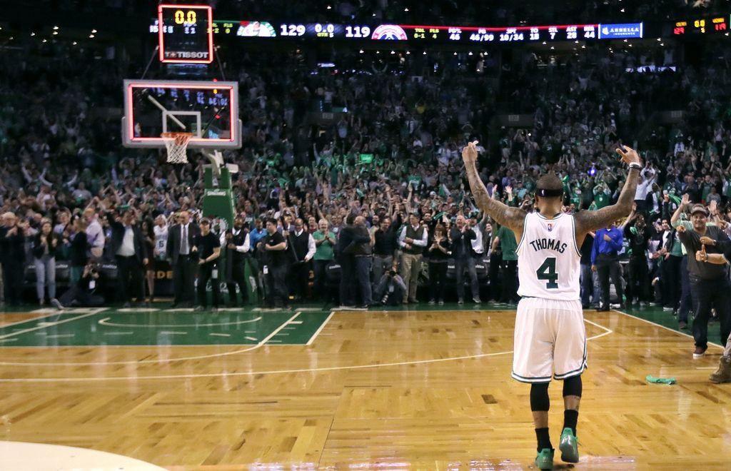 Liga NBA: Izjemni Isaiah Thomas prinesel Bostonu drugo zmago (VIDEO)