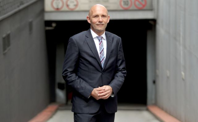 Tomislav Čeh,direktor Grand hotela Union,Ljubljana Slovenija 10.05.2017 [Portret]
