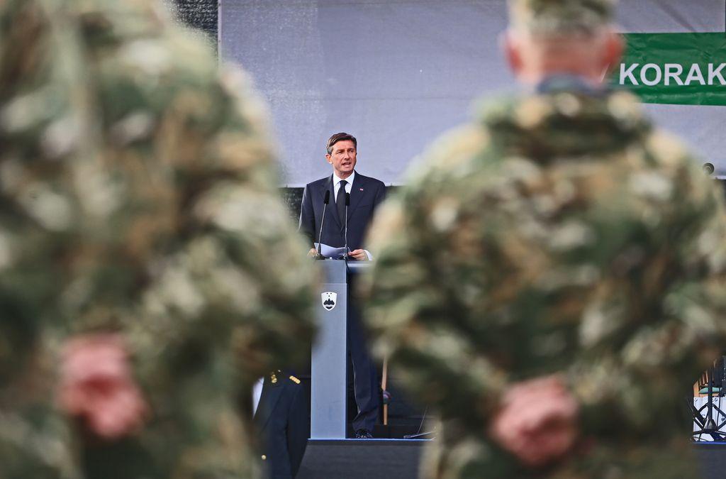 Borut Pahor bo zagovarjal stanje v vojski