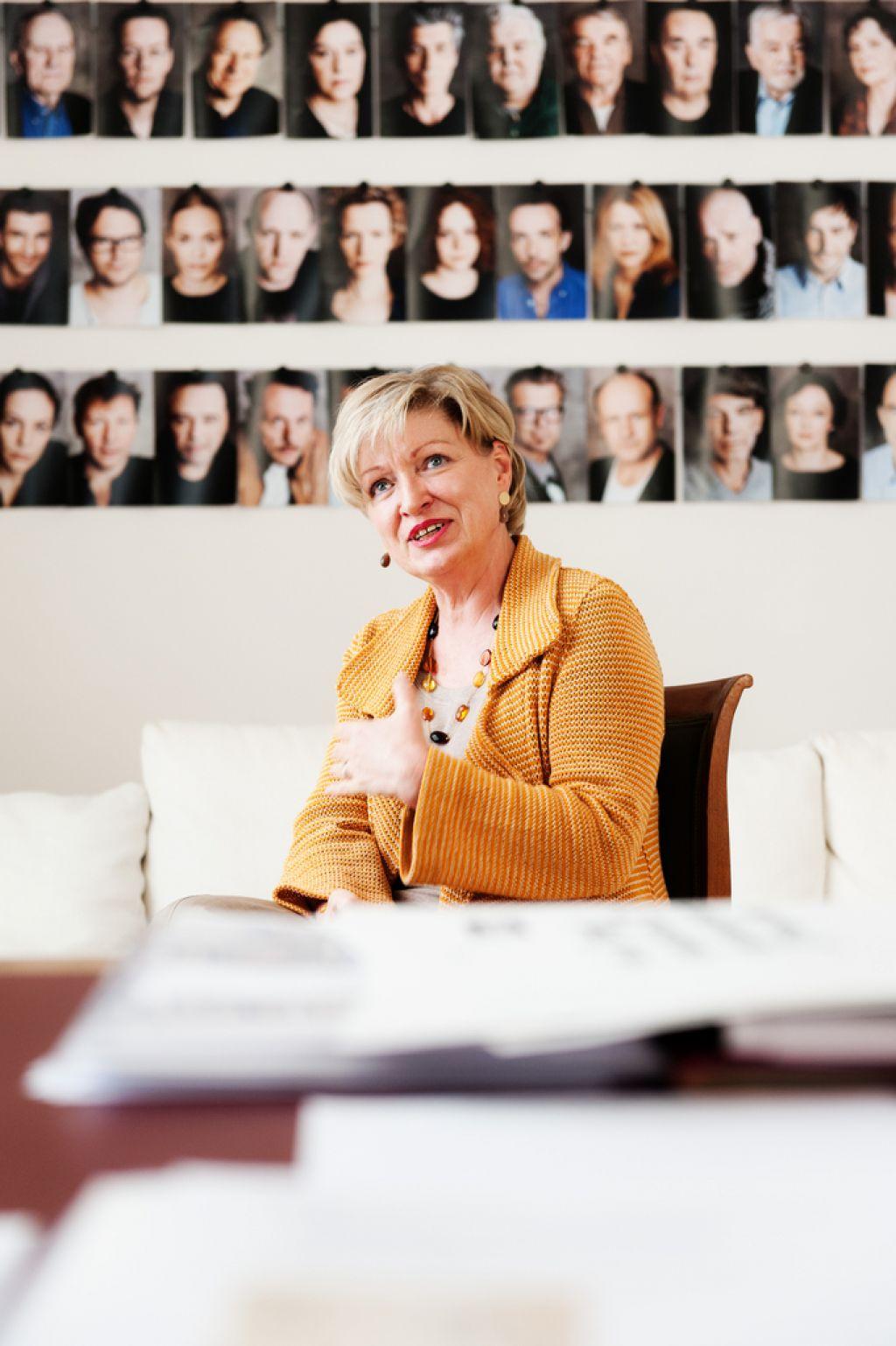 Karin Bergmann, direktorica Burgtheatra: »Ne delam gledališča za kvote!«