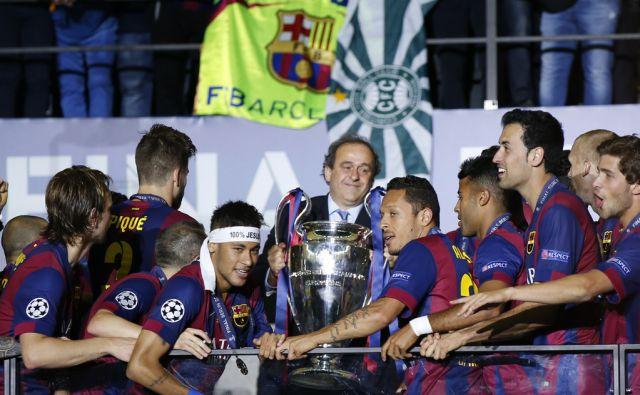 Soccer UEFA Trophy Presentations