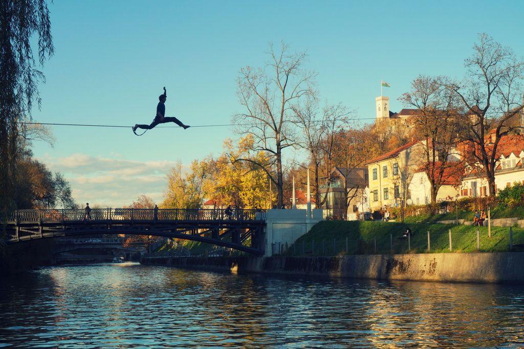 Iskanje harmonije nad Ljubljanico