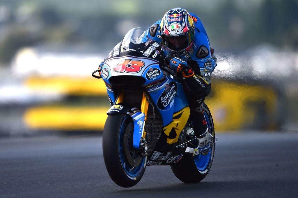 Dež močil dirkače, Lorenzo zaostal več kot štiri sekunde (VIDEO)
