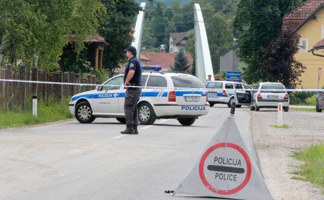 Podpec - Ljubljana, 27.6.2014,  v ljubljani ugrabili zensko, ki so jo kasneje najdli mrtvo v podpeci. Foto: Marko Feist