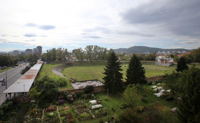 Stadion Bežigrad 04.oktobra 2016 [Sradion Bežigrad,stadioni,Ljubljana,športni objekti,šport]