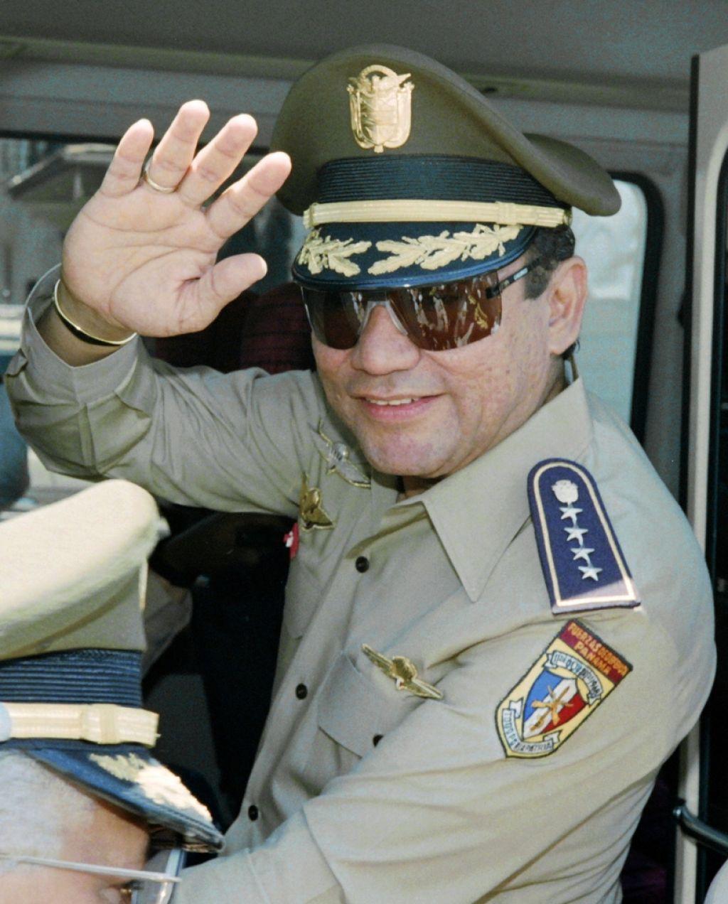 Umrl je nekdanji panamski diktator Manuel Noriega