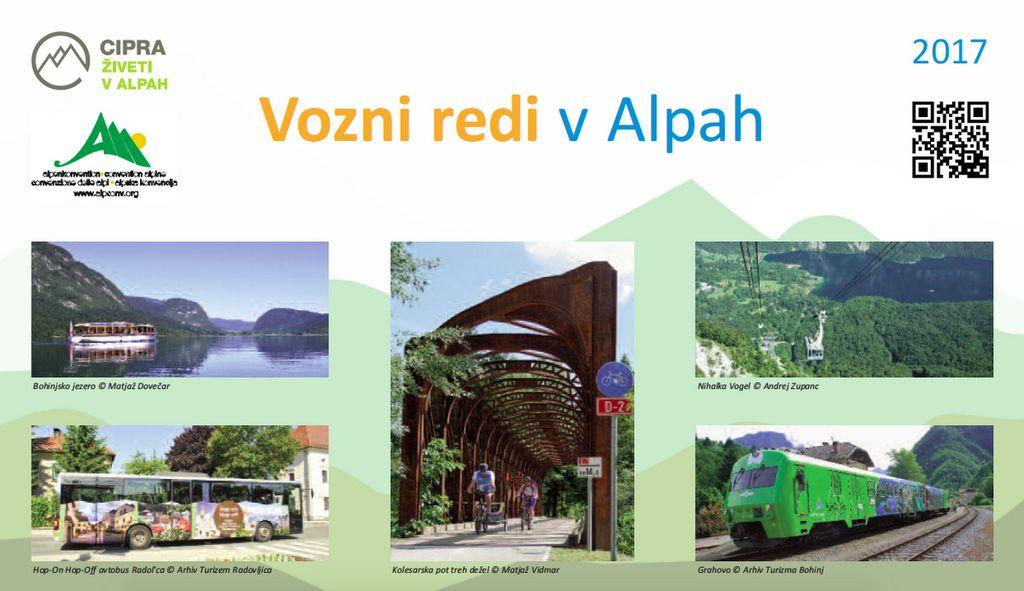 Kako na izlete po Alpah z javnim prevozom