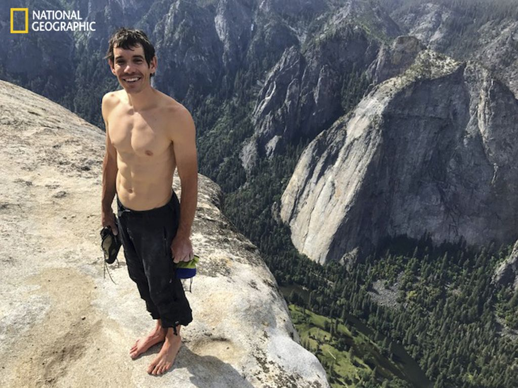 Brez varovanja čez El Capitan