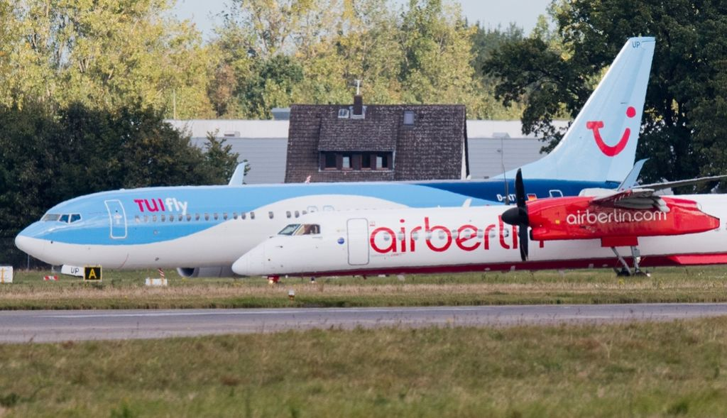 Propadlo povezovanje med Air Berlin in Tuifly