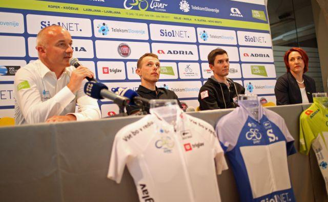 Tiskovna konferenca pred kolesarsko dirko po Sloveniji Ljubljana 14.6.2017 [kolesarji,dirka po sloveniji]