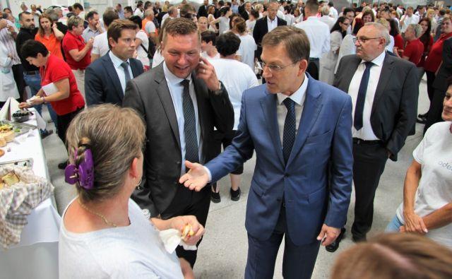 odelo Slovenija, 11.7.2017 - Otvoritev nove hale podjetja odelo