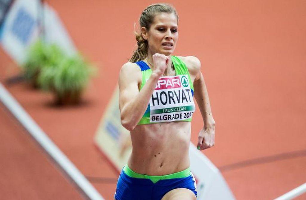 Državni rekord Horvatove na 400 metrov, Janežič v finalu
