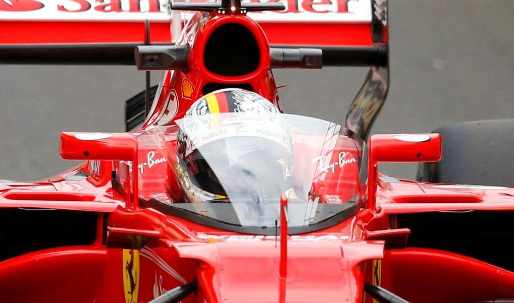 Vettel se je raje obdal s ščitom