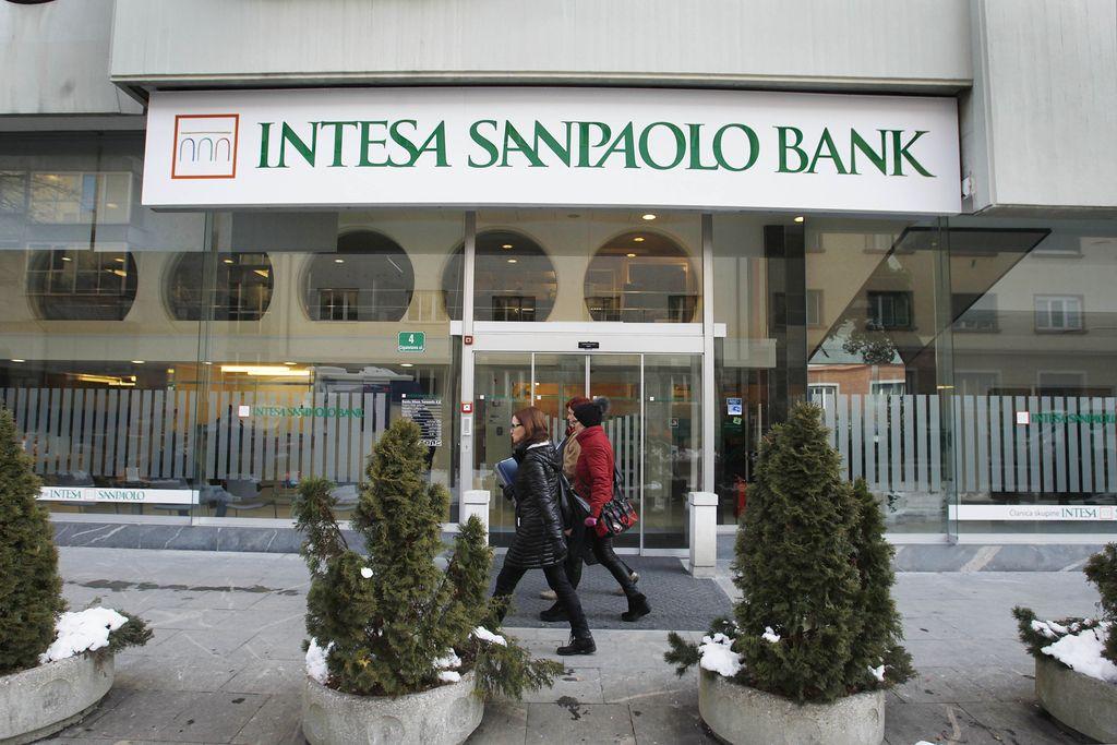 Banka Intesa Sanpaolo pod okrilje Intesine banke na Hrvaškem