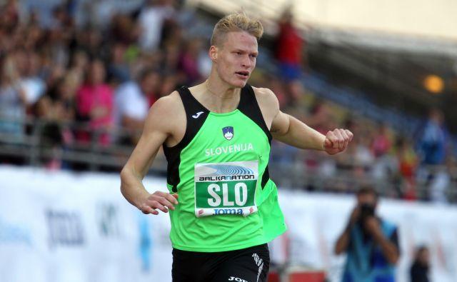 Balkanation atletika - Luka Janežič 20.septembra 2014