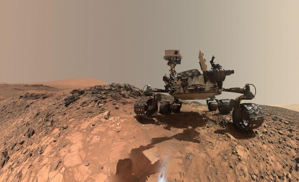 Pet let Radovednosti na Marsu