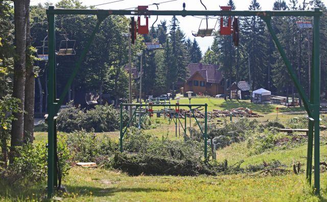 Prenova vlečnice na Bellevue, 16.8.2017, Bellevue, Pohorje [bellevue, mariborsko pohorje]