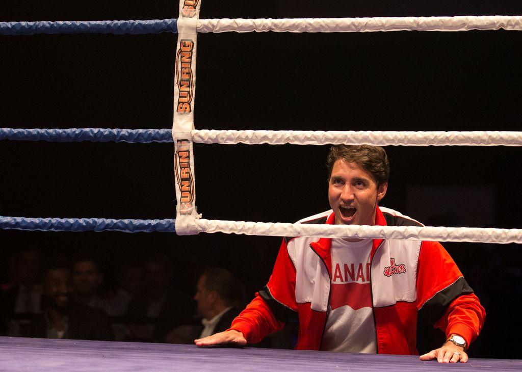 Kanadski premierznova v ringu