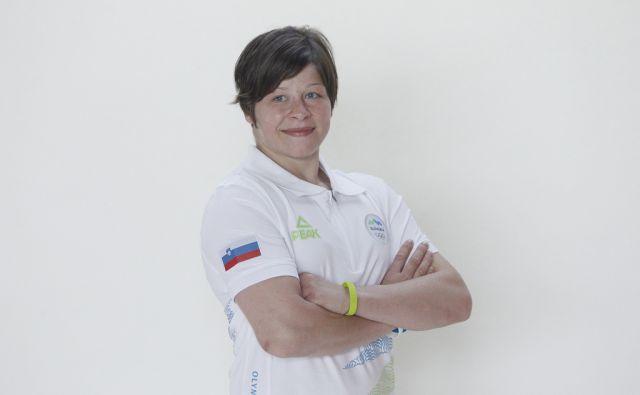 Na sliki Tina Trstenjak.Trening judoistov, ki potujejo na olimpijske igre v Rio, Podčetrtek, 7. junija 2016 [judo,Podčetrtek,treningi,Tina Trstenjak]