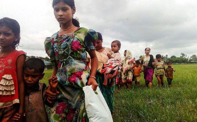 MYANMAR-BANGLADESH-UNREST-ROHINGYA