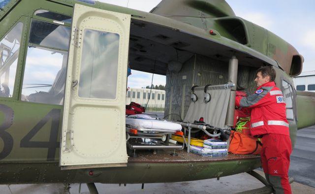 san*slovenska vojska helikopter