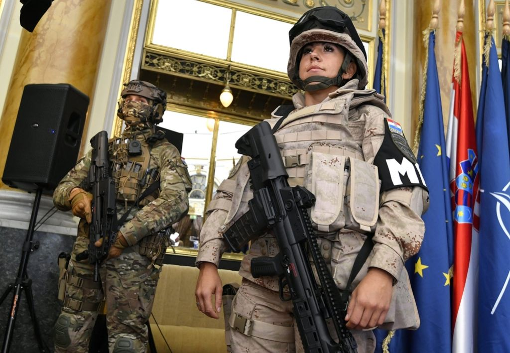 Hrvaška postaja pomembna izvoznica orožja
