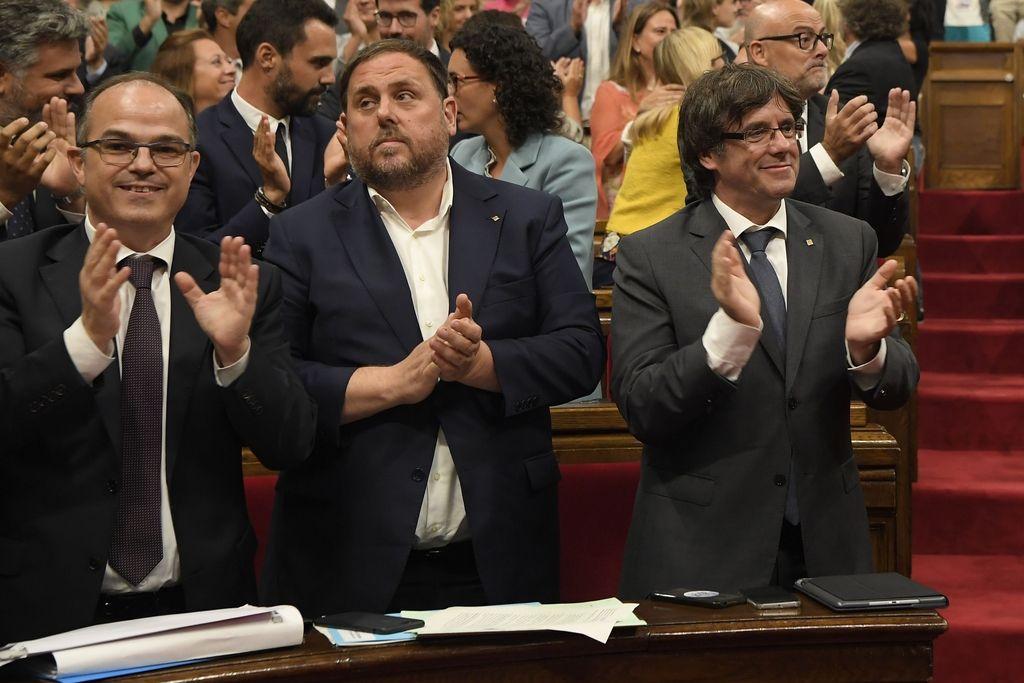 Katalonija: potrjen je zakon o izvedbi referenduma o neodvisnoti