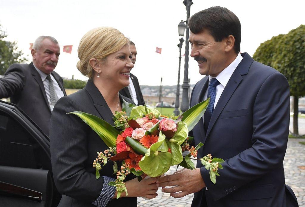 Hrvaški predsednici v Budimpešti potrdili zavrnitev