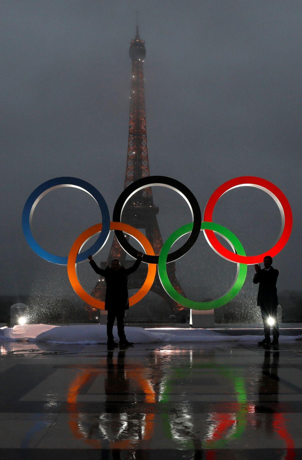 V mestu luči konec stoletne olimpijske suše