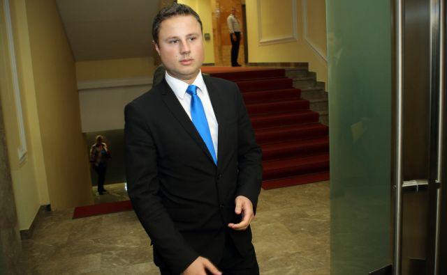 Žan Mahnič SDS