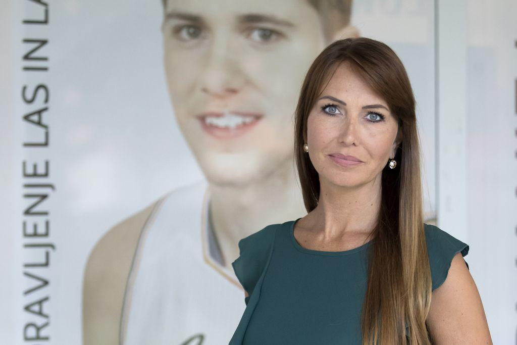 Mirjam Poterbin: Luka je dal srce košarki