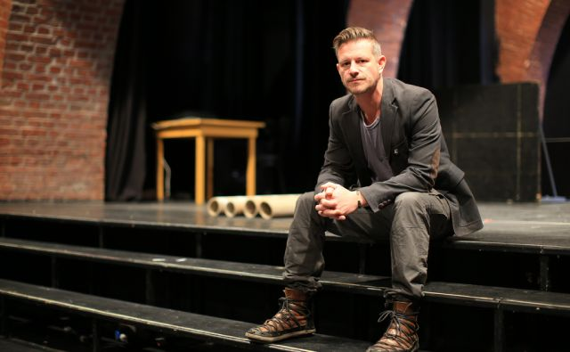 Tibor Mihelič direktor Slovenskega mladinskega gledališča Ljubljana 22.9.2017 [mladinsko gledališče,tibor mihelič]