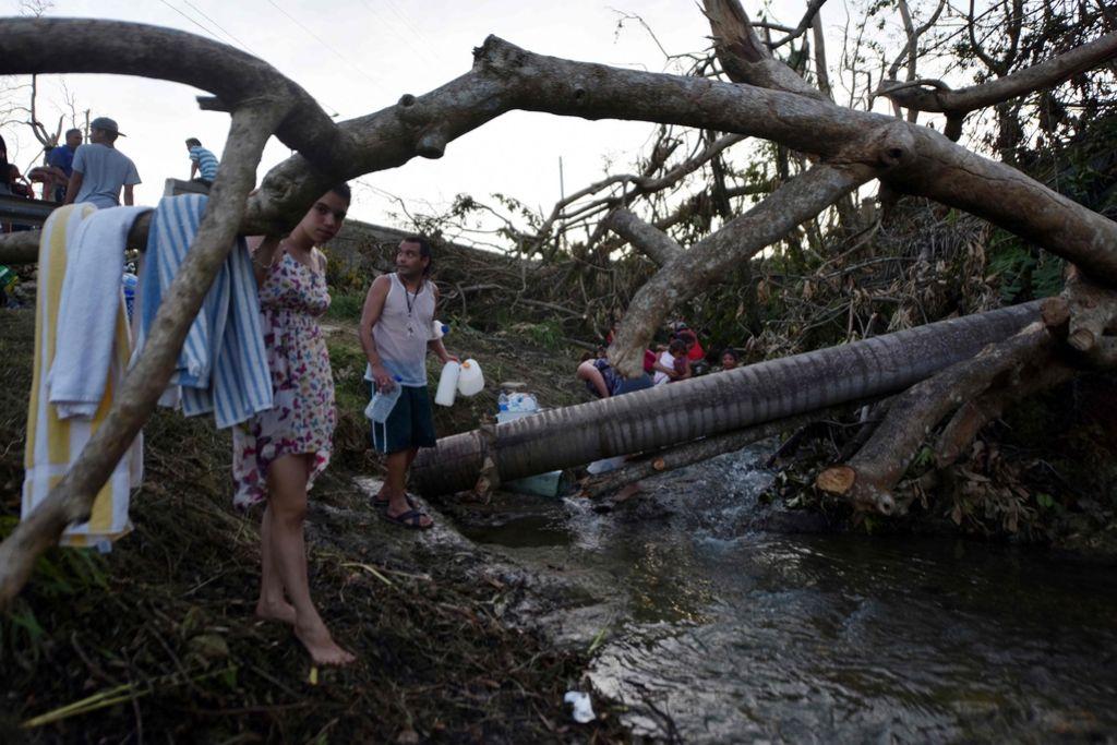 Orkan je v Portoriku pustil veliko razdejanje