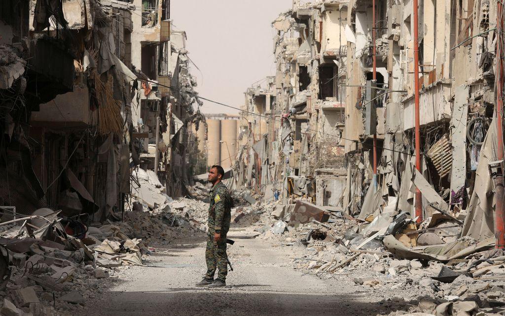 Tekma za nafto na vzhodu Sirije