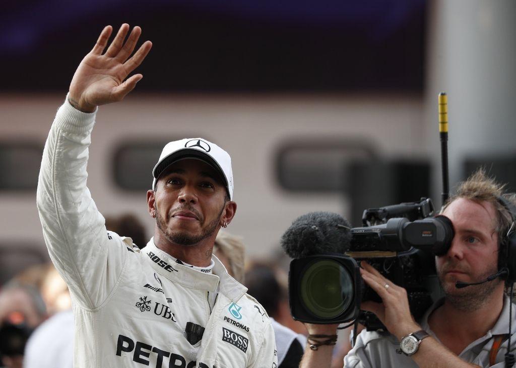 Hamilton dvakrat najhitrejši v Sao Paulu