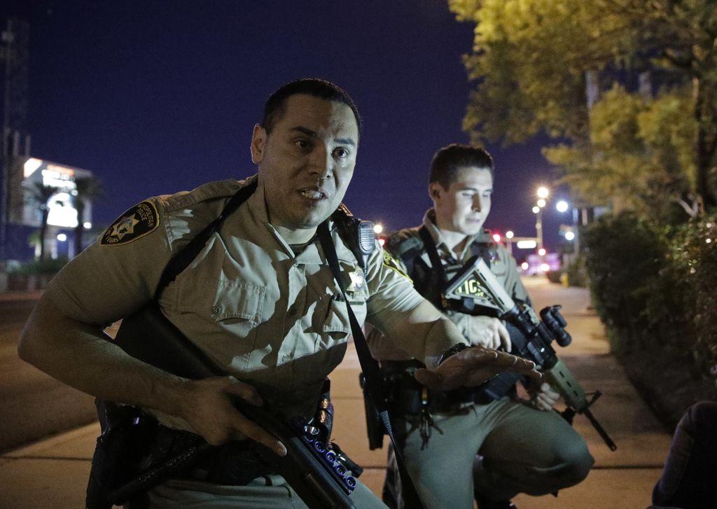 Krvavi strelski pohod v Las Vegasu