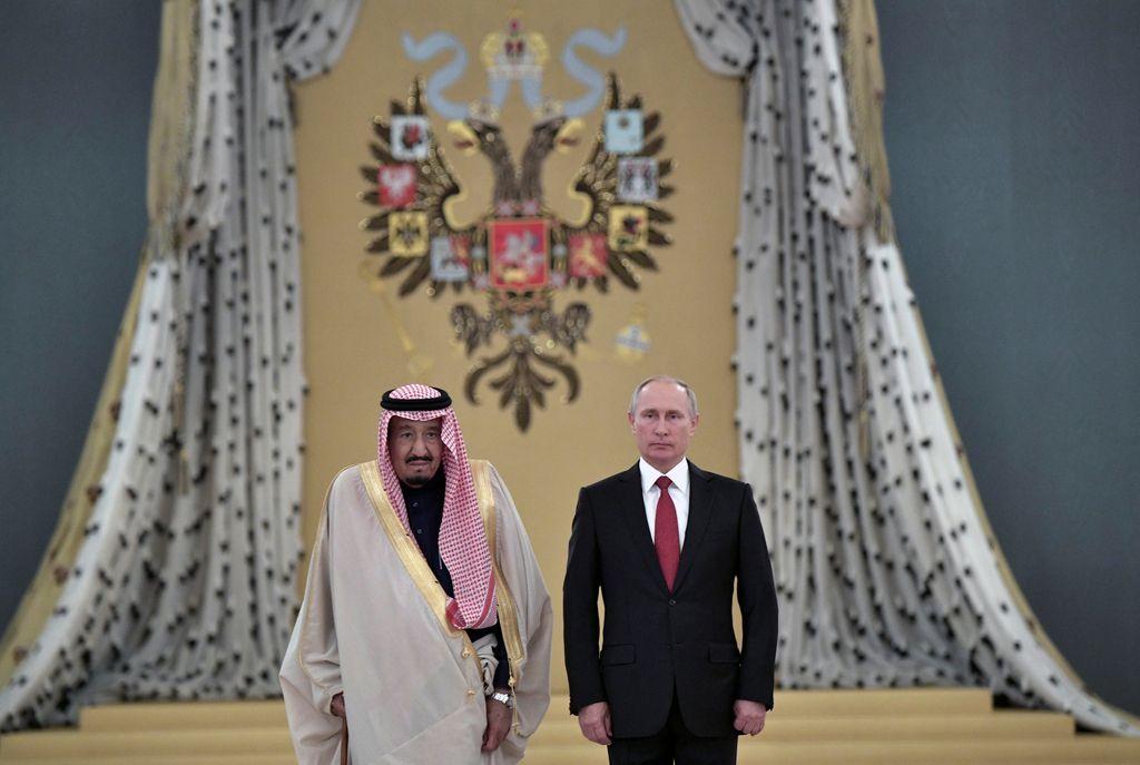 Ruski triumf za saudskega poglavarja