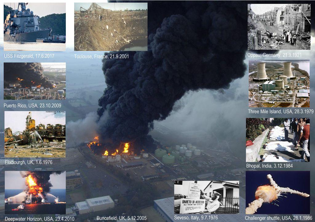 Industrijske nesreče - varnost in tveganja industrijskih procesov