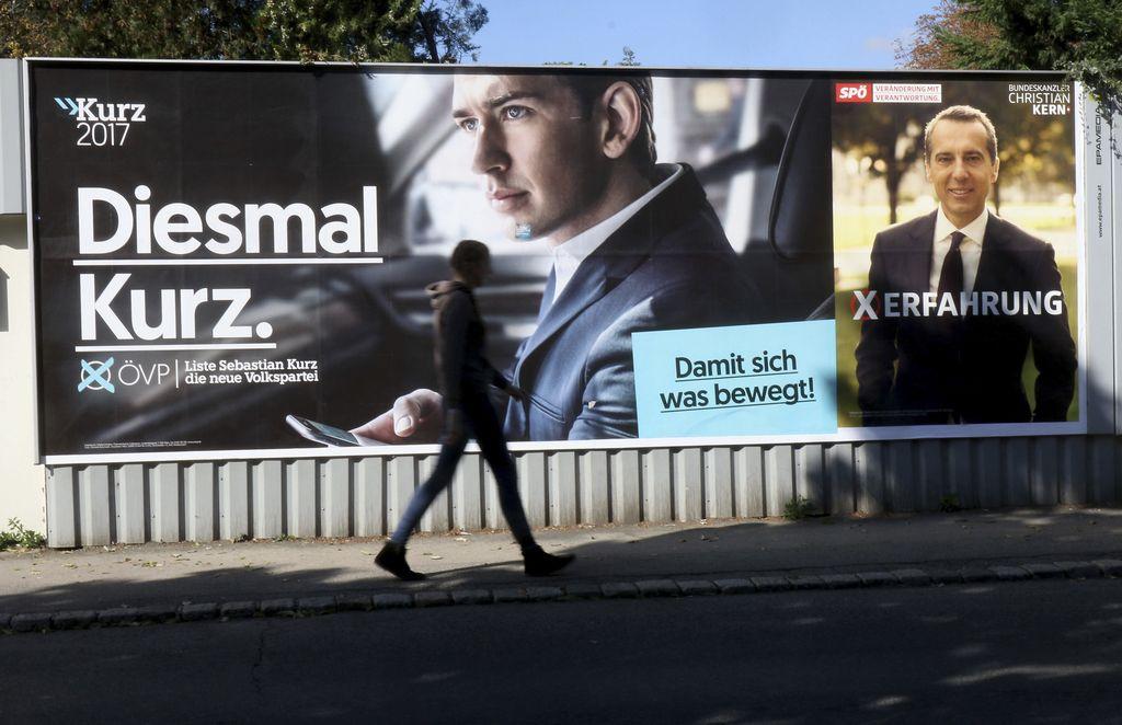 V Avstriji potekajo predčasne parlamentarne volitve