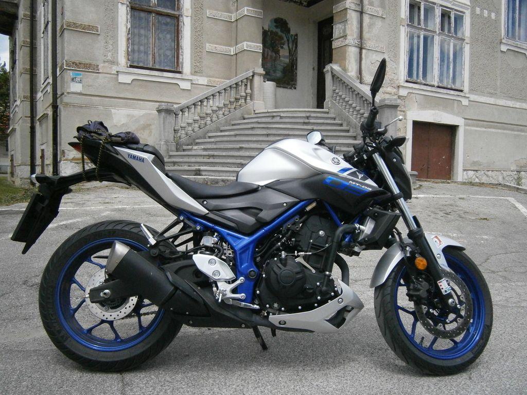 Preizkusili smo: Yamaha MT-03