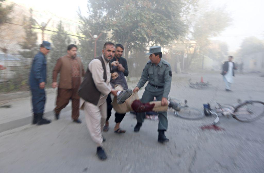 Pet mrtvih v diplomatski četrti v Kabulu