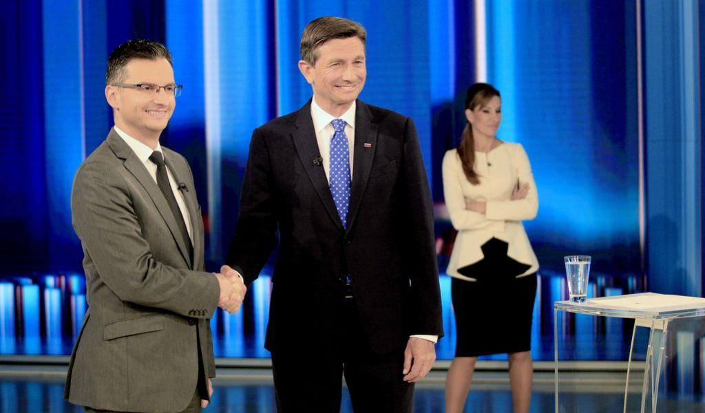 Šarec in Pahor na tokratnem soočenju tudi o stricih iz ozadja