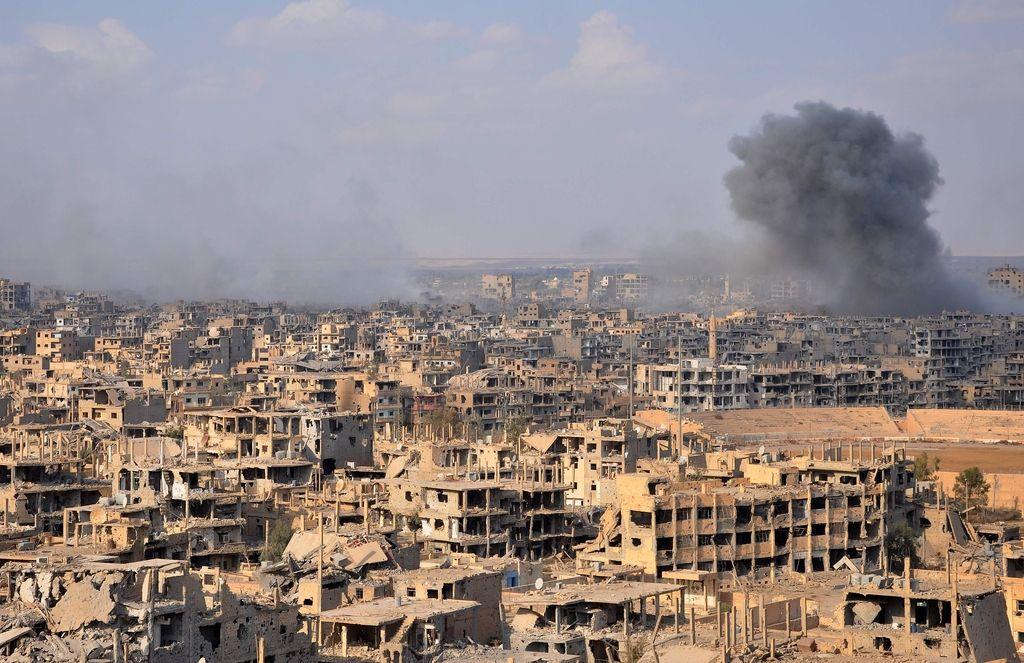 Približevanje frontalnega »soočenja« glavnih akterjev sirske vojne