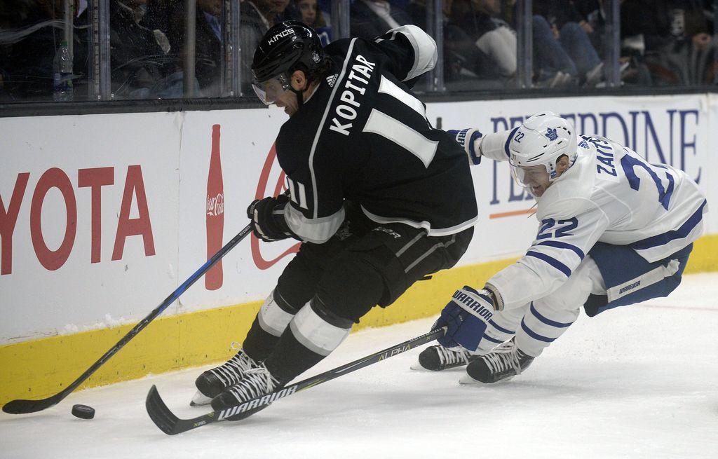 NHL: Kralji premagali Toronto, Kopitar do ene podaje (VIDEO)