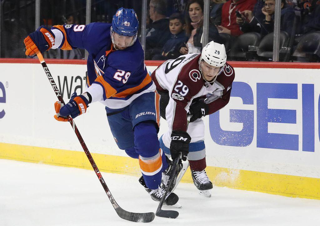 NHL: Razpoloženi Barzal preveč za Colorado (VIDEO)