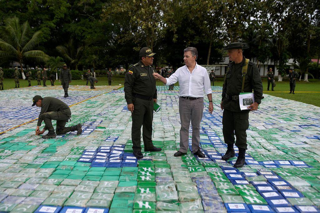 V Kolumbiji zasegli 12 ton kokaina