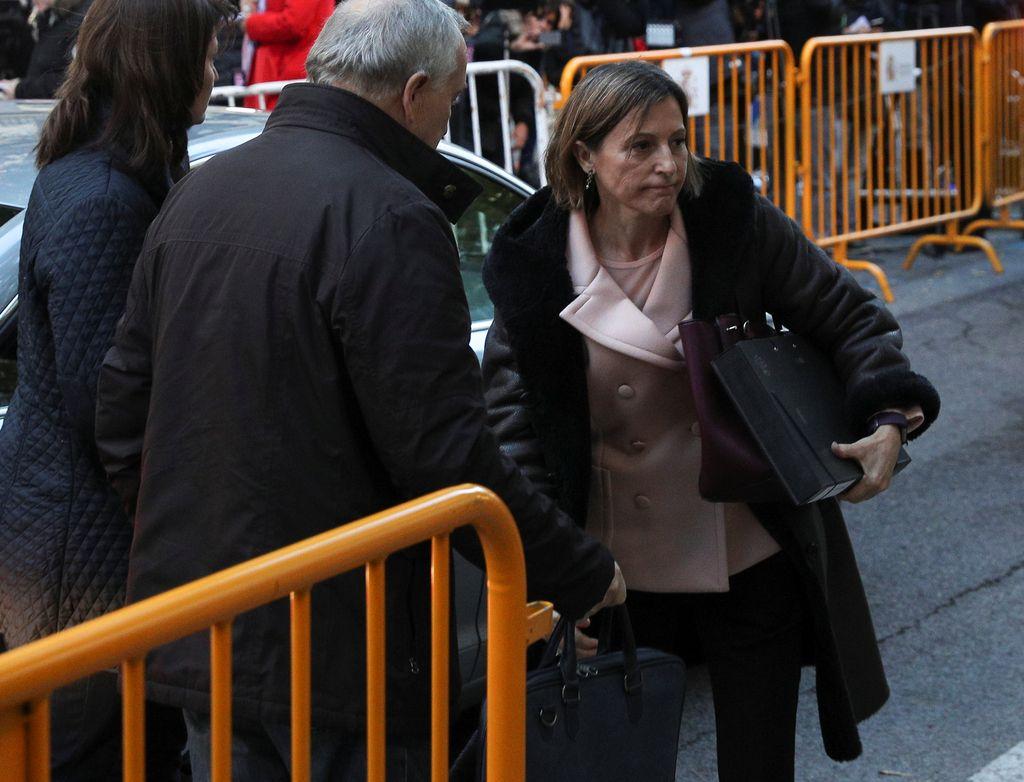 Predsednica katalonskega parlamenta v preiskovalnem priporu