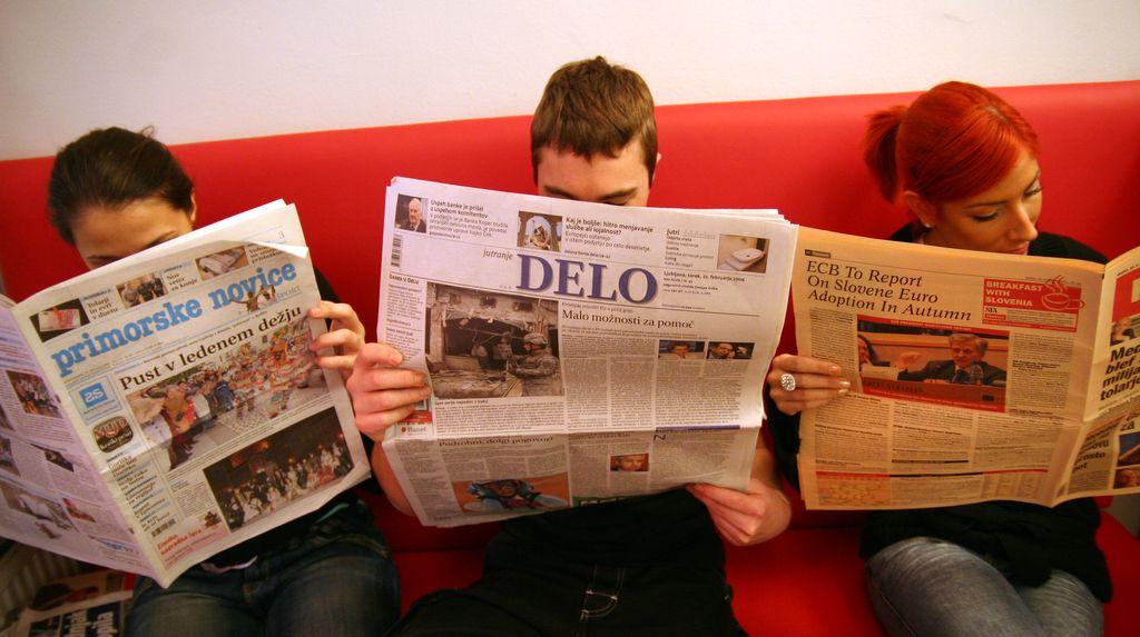 Zgodovina Primorskih novic iz prve vrste
